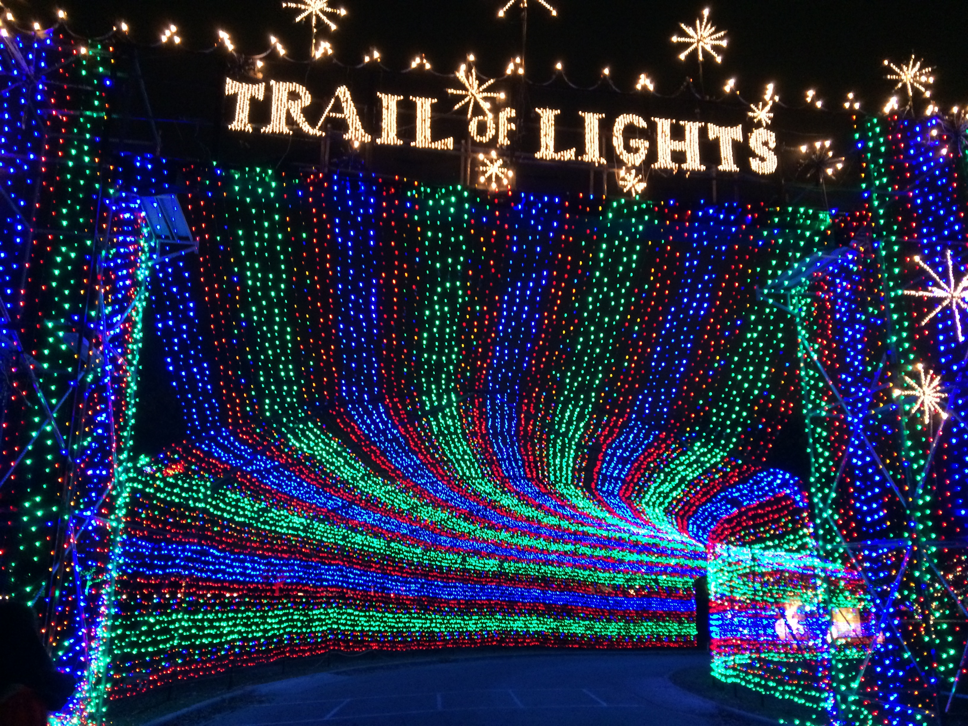 Trail of Lights at Zilker Park