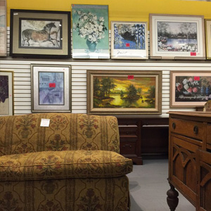 Furniture and Paintings From St. Vincent