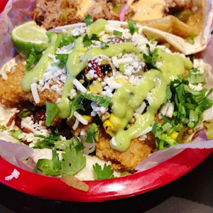 Torchy's Tacos Hipster Taco on their Sacred Menu